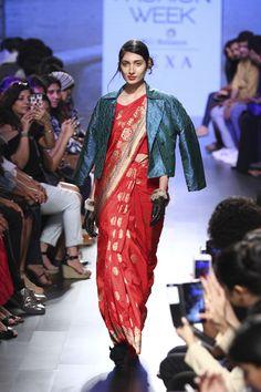 3ddd5a36f9611 Sailesh Singhania at Lakmé Fashion Week winter/festive 2017 Radhika Apte,  Ethnic Trends,