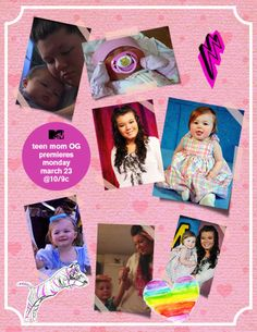 I'm so proud of Amber, I can't wait to see her be there for Leah on Teen Mom OG.