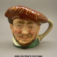 Vintage Royal Doulton Sir Francis Drake Character Porcelain Toby Jug A Mark | eBay