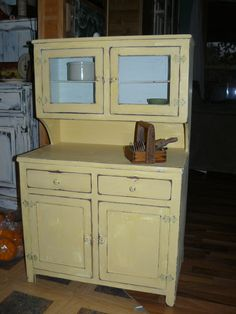 childs cabinet I painted