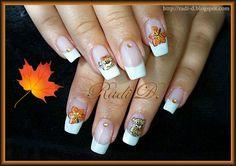It`s all about nails: Autumn Bears http://radi-d.blogspot.com/2014/09/autumn-bears.html