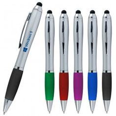 i-Stylus Grip Personalized Pen - Custom capacitive SENSI-TOUCH stylus pens    are designed for any High-End Touch screen devices that use the latest capacitive screen technology