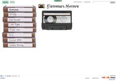 EveryonesMixtape.com - A Web App That Helps You Create Virtual Mixtapes