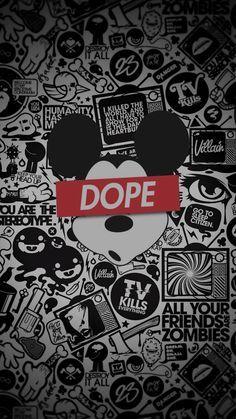 Dope-Droga-Mickey-Black&White