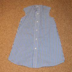 dress from shirt tutorial 4