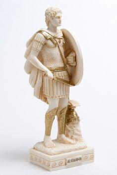 "Alexander The Great King ancient Greek kingdom of Macedonia Greece Star Vergina Alabaster Statue 10 2"" | eBay"
