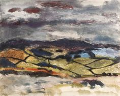 Sir William George Gillies - A view of the Lammermuirs; Dimensions: X cm. Abstract Landscape Painting, Landscape Paintings, Royal Engineers, Glasgow, Inspired, Artwork, Work Of Art, Landscape, Landscape Drawings