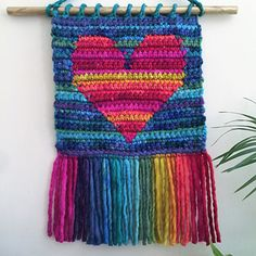 Ravelry: Love For All Wall Hanging pattern by Susan E. Kennedy