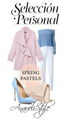 Spring Pastels by anaueli on Polyvore featuring polyvore, fashion, style, TIBI, Vince, Nina Ricci, Casadei, Givenchy and clothing