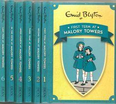 """Enid #Blyton -  """"Malory Towers"""" Set of 6 School Stories ---- http://i.ebayimg.com/t/Enid-Blyton-Malory-Towers-Set-of-6-School-Stories-HB-Books-SALE-/00/s/MTQ0M1gxNjAw/z/7eIAAOxyNo9SvszE/$_58.JPG"""