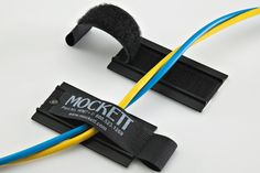 Guide with VELCRO® brand fasteners - Wire Managers - Grommets & Wire Management - Mockett Wire Management, Cable Management, Floating Tv Stand, Saving Ideas, Time Saving, Arch Interior, Cable Organizer, Fine Furniture