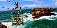 PERGIPEDIA - Wisata Menantang Nyali Pantai Timang Gunung Kidul . Gunung Kidul memang terkenal ak...