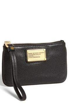 "MARC BY MARC JACOBS 'Small Classic Q"" Wristlet available at #Nordstrom"