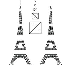 Eiffel Tower - 3Doodler
