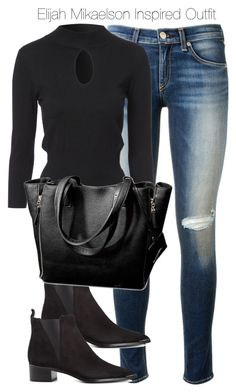 """Elijah Mikaelson Inspired Outfit"" by staystronng ❤ liked on Polyvore"