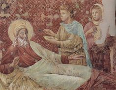 Isaac blessing his son, as painted by Giotto di Bondone