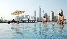 Man-made Beach Created In Shanghai