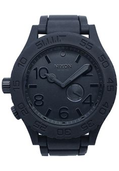 Nixon A236-000 Watches,Men's 51-30 Series Black Dial Black Polyurethane, Casual Nixon Quartz Watches
