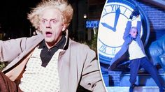 Back to the Future: You won't BELIEVE how much Doc Brown's shirt will sell for at auction
