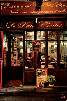 Le Petit Chalet, Paris France