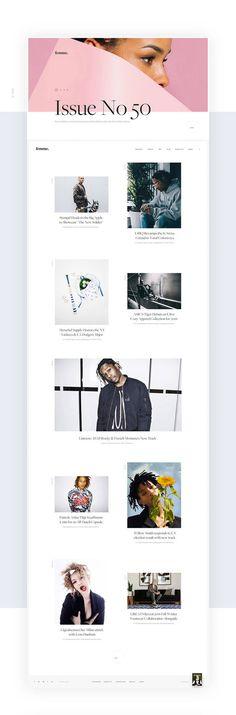 Femme2 #ui #ux #userexperience #website #webdesign #design