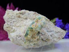 Maine Tourmaline Crystals in Lepidolite Matrix, Unique Mineral Display Specimen  | eBay