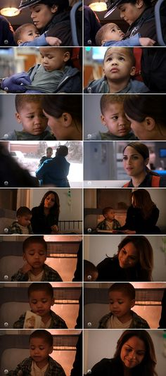 Look at that face, it breaks my heart.... And that's a loving mother over there. Look at the pain in her face when Louie goes away... All their scenes melted my heart... Little angel.