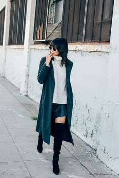 By Taye Hansberry - Stuff She Likes Three Ways to Style Bulky Pieces http://www.stuffshelikes.net