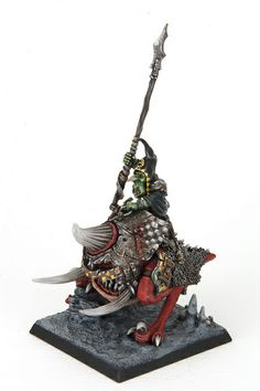 Orcs and Goblins :: Night Goblin Warboss on Great Cave Squig | Flickr - Photo Sharing!