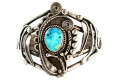 Navajo Turquoise Cuff Bracelet $389.00 by One Kings Lane