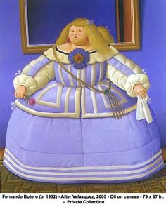 Fernando Botero- After Velasquez, 2005