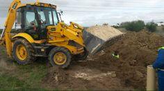 Building has begun! Country Estate, Tractors, Building, Buildings, Construction