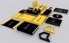 Real Estate Corporate Branding & Merchandise Some really striking products and colours