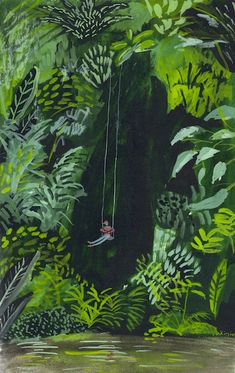 kirsten sims_day 143_hang of it_gouache_345x250mm