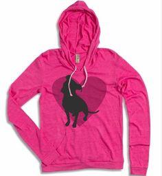Eco True Azalea Pit Bull Heart Lightweight Pullover Hoodie. #dogparkpublishing http://www.dogparkpublishing.com/product_info.php/eco-true-azalea-pit-bull-heart-lightweight-pullover-hoodie-p-963