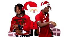 dancing christmas singing xmas bayern munich fc bayern renato hit the quan renato sanches coman bayern christmas kingsley coman hit the kwan #humor #hilarious #funny #lol #rofl #lmao #memes #cute