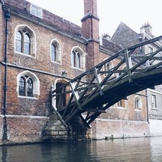 The Mathematical Bridge in Cambridge, England / photo by ursa-minor