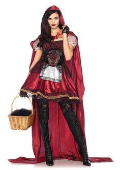 2pc. Captivating Miss Satin And Velvet Costume