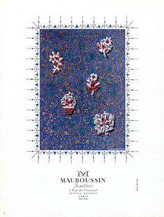 Mauboussin (Jewels) 1948 S. Markovitch