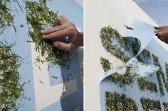 Event Deko Idee: Schriftzug und Graffiti aus Gras | eveosblog: Blog für Event, Eventmarketing, Social Media  Marketing