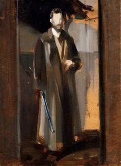 Alessandro Milesi (1856-1945) - Ritratto del Professor Lorenzoni, 1937