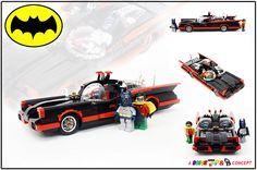 1966 BATMOBILE /by Alex Jones #LEGO