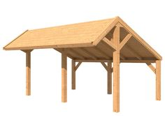 Modular Larch Apex Barn