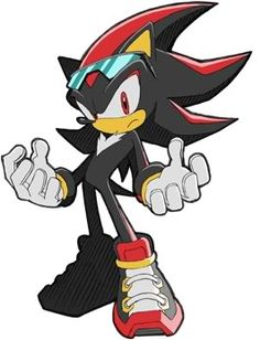 Shadow the Hedgehog - He's a very sexy hedgehog. hahaha jk But seriously, though. :)