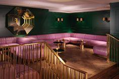 Mondrian Hotel London Design by Tom Dixon / l'hôtel Mondrian redesigné par Tom Dixon, Londre #copper #cuivre, #rame, #kupfer, #cobre