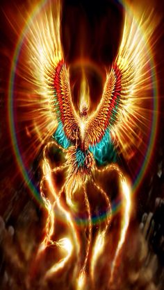 A Phoenix. I  feel like this when I need to create beauty.