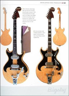 Bigsby guitars