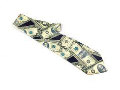 Vintage Rene Chagal Necktie Silk tie Silk necktie US