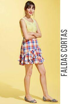 faldas cortas de mezclilla