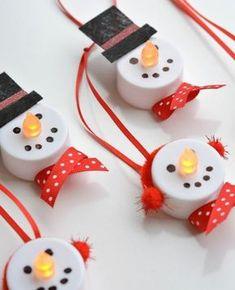 Décoration de Noël à fabriquer soi-même - 87 idées DIY faciles à réaliser - Archzine.fr